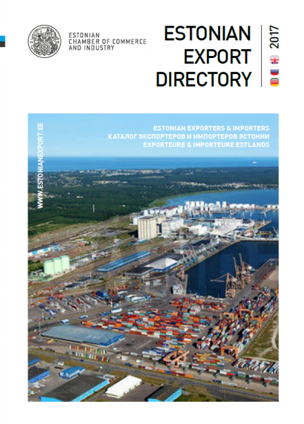 Estonian Export Directory 2017